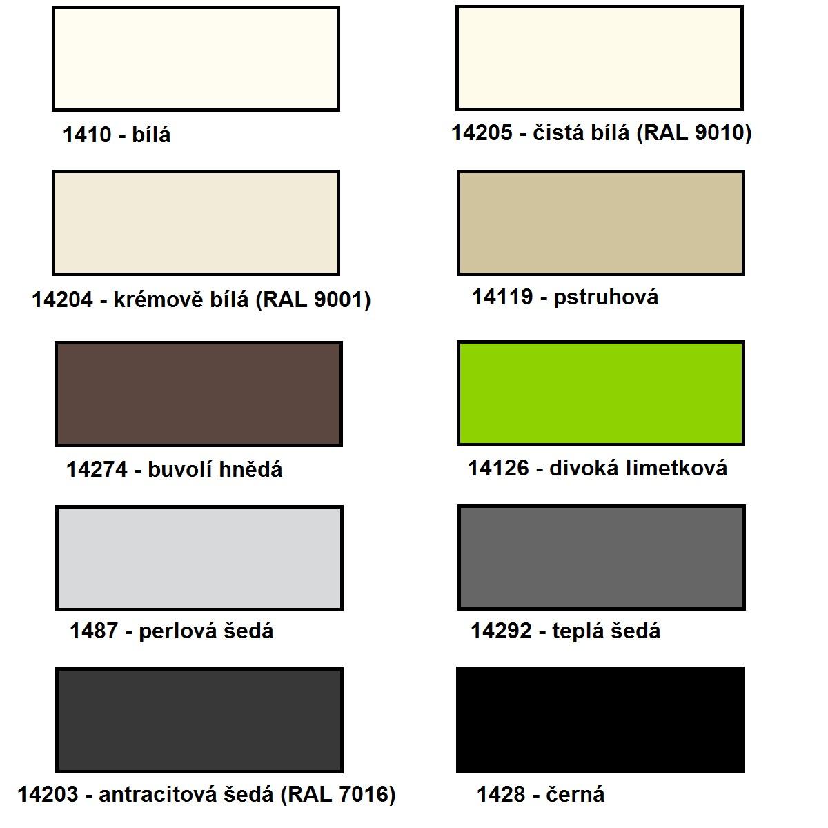 Barva ral 9010