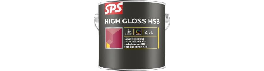 SPS Profesionální silnovrstvé krycí lazury HSB - lesk