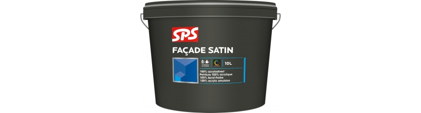 SPS Fasádní akrylátová barva - satén