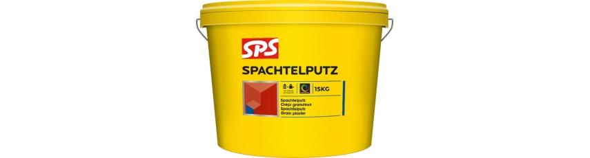 SPS Zrnitá omítka silikonová fasádní SB