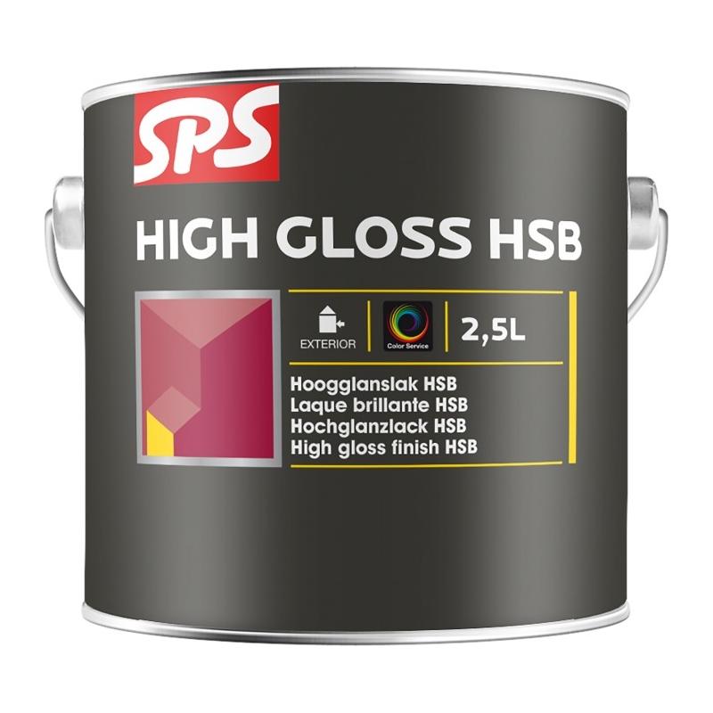 SPS Lesklá krycí silnovrstvá lazura HSB 2,5l
