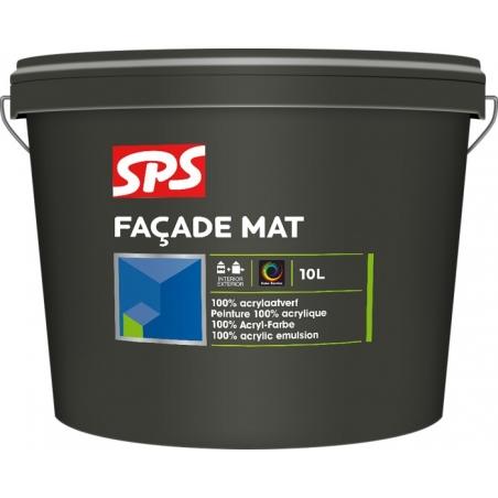 SPS Fasádní akrylátová barva - mat 10l
