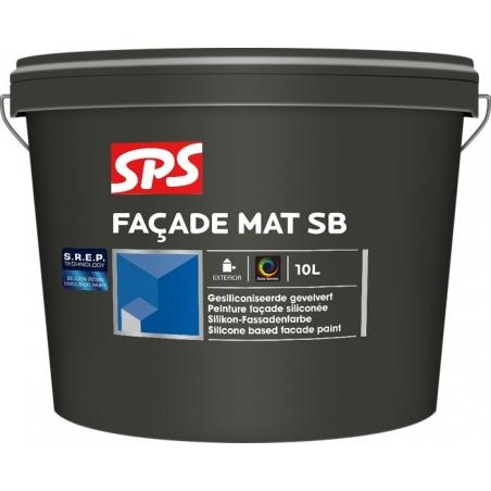 SPS Fasádní silikonová barva 4l