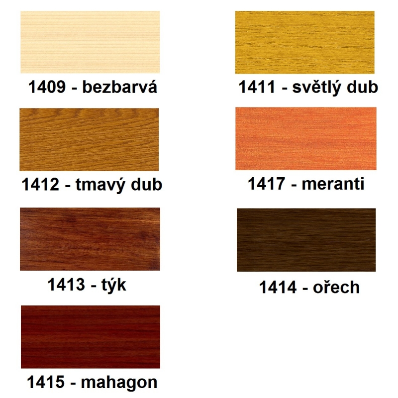 SPS Lazura na dřevo akrylátová UV 5l