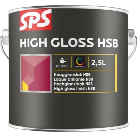 SPS Lesklá krycí silnovrstvá lazura HSB - báze 1l