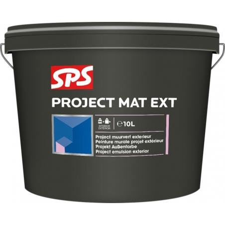 SPS Project mat fasádní - bílá 10l