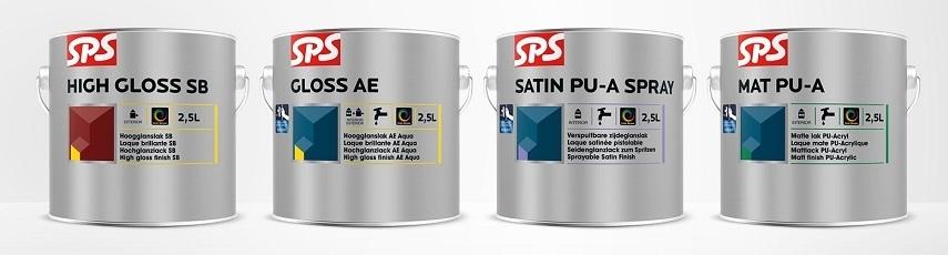 SPS Akrylátová barva na dřevo i plast