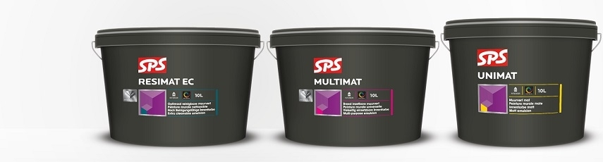SPS Metalické malířské barvy